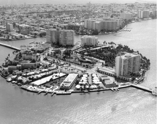 In 1962, Belle Isle with Monterey/Lido in the foreground.