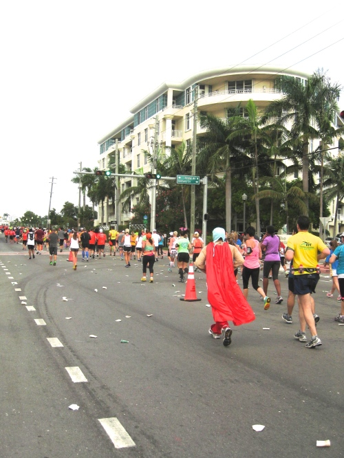 Scenes from 2013 Miami Marathon