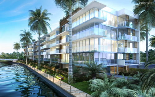 A rendering of Palau at Sunset Harbour.