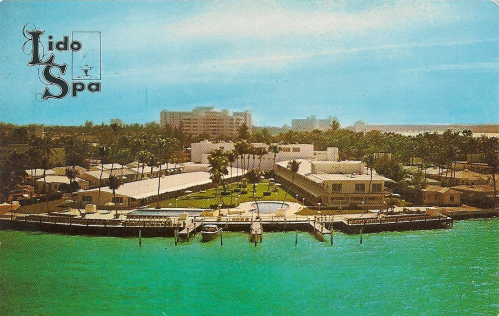 "Touting the Lido as ""Miami Beach's only spa."""