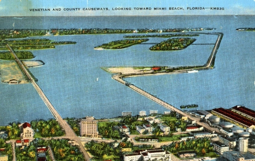 Another view of the Causeways, circa 1939.