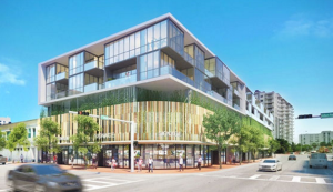 Rendering of 17th and Alton project