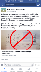 Save Miami Beach targets Sunset Harbour project